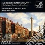 Concerti grossi op.6 nn.1-12 cd musicale di HANDEL GEORG FRIEDRI