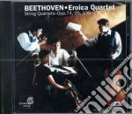 Quartetto n.10 op.74, n.11 op.95 cd musicale di BEETHOVEN LUDWIG VAN