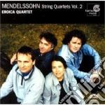 Quartetti per archi n.3 e n.4 op.44 cd musicale di Felix Mendelssohn