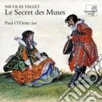 Le secret des muses cd musicale di Nicolas Vallet