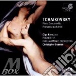 Concerto per pianoforte n.1 op.23, franc cd musicale di CIAIKOVSKI PYOTR IL'