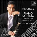 Sonata per pianoforte n.3 op.5, 7 fantas cd musicale di Johannes Brahms