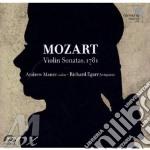 Sonata per violino k 376, 377, 380, fram cd musicale di Wolfgang Amadeus Mozart