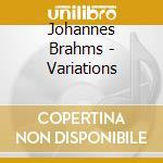 Variations cd musicale di Johannes Brahms