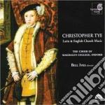 Musica sacra su testi inglesi e latini cd musicale di Christopher Tye