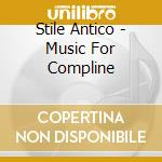 Music for compline cd musicale