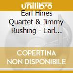 Blues & things - hines earl rushing jimmy cd musicale di Earl hines & jimmy rushing