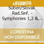 Suben/Slovak Rad.Sinf. - Symphonies 1,2 & 3 cd musicale di Anthony louis scarmolin