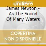 San Francisco Contemporary Music Pl - Newton -  As The Sound Of Many Waters cd musicale di Newton James