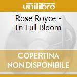 IN FULL BLOOM cd musicale di ROSE ROYCE