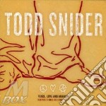 Todd Snider - Peace, Love And Anarchy cd musicale di TODD SNIDER