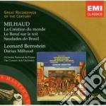 LA CREATION DU MONDE/LE BOEUF SUR LE TOI cd musicale di Leonard Bernstein