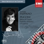 MESSA DI GLORIA cd musicale di Giacomo Puccini