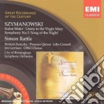 Szymanovski - Choral Works cd musicale di Simon Rattle