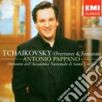 TCHAIKOVSKY OUVERTURES cd musicale di TCHAIKOVSKY