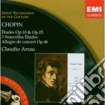 ƒTUDES: OP.10 AND OP.25 cd musicale di CHOPIN