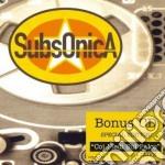 SUBSONICA + CON I PIEDI SUL PALCO LIVE cd musicale di SUBSONICA