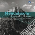Symphony no.3-5 cd musicale di Mendelssohn bartholdy f.