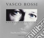 THE PLATINUM COLLECTION/3CD cd musicale di Vasco Rossi
