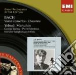 VIOLIN CONCERTOS, CHACONNE cd musicale di Yehudi Menuhin