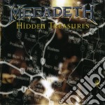 Hidden treasures cd musicale di Megadeth