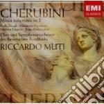 Cherubini - Muti Riccardo - Missa Solemnis In Mi cd musicale di Riccardo Muti
