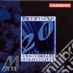 20th anniversary highlights cd musicale di Artisti Vari