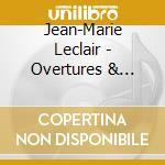 Ouvertures et sonates en trio cd musicale di Leclair