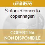Sinfonie/concerto copenhagen cd musicale di Scheibe