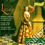 Premiere recreation musique de cd musicale di Leclair