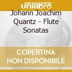 Flute sonatas cd musicale di Quantz