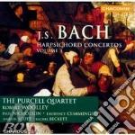 Purcell Quartet - Woolley Robert - J S Bach Harpsichord Concertos Volume 3 cd musicale di Bach johann sebastian
