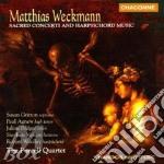 Sacred conc. harpsichord music cd musicale di Matthias Weckmann
