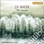 Trio sonatas cd musicale di Bach johann sebastian