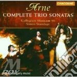 Complete trio sonatas cd musicale di Arne thomas augustine