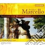 Sonatas for harpsichord cd musicale di Benedetto Marcello