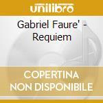 Requiem cd musicale di Faure'