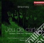 Jeu de cartes cd musicale di Stravinsky