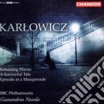 Musica orchestrale noseda cd musicale di Karlowicz
