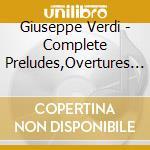 Preludi - overtures cd musicale di Verdi