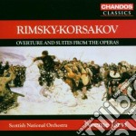 Ouverture & suite cd musicale di Rimsky - korsakov