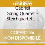 String quartet n 1& 2 cd musicale di Mendelssohn