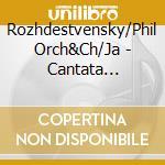 Cantata per la rivoluzione cd musicale di Prokofiev