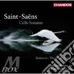 Sonate per cello cd musicale di Saens Saint
