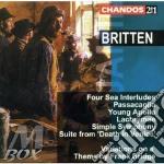 Four sea interludes op.33 etc. cd musicale di Benjamin Britten