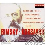 Symphony n.1-2 op. 1 e 2 cd musicale di Nicol Rimsky-korsakov
