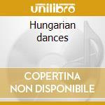 Hungarian dances cd musicale di Johannes Brahms