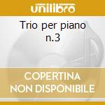 Trio per piano n.3 cd musicale di Antonin Dvorak