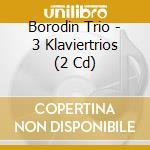 Trii per piano n.1-3 cd musicale di Brahms