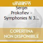 Sinfonia n.3 e 4 cd musicale di Sergei Prokofiev